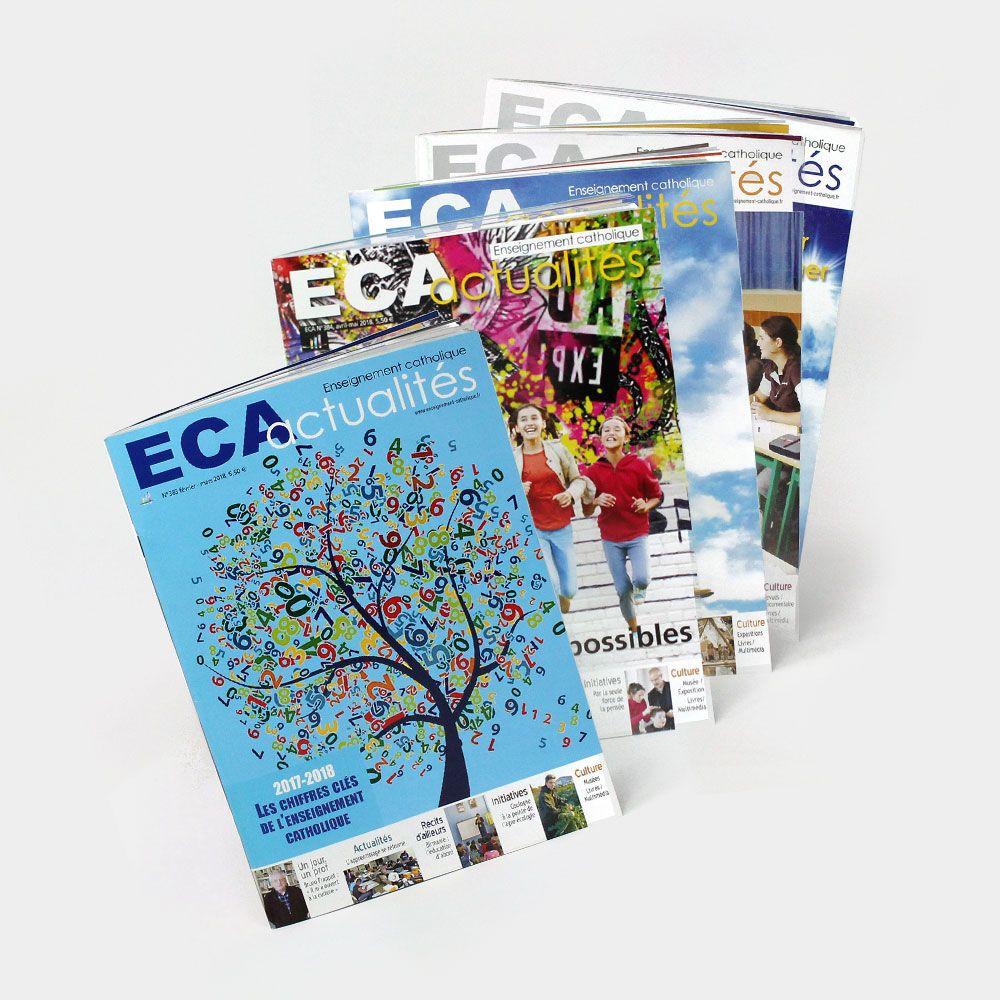 Abonnement au magazine ECA Formule 100% Numérique