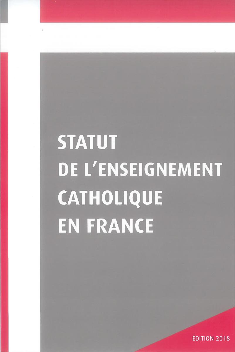 Statut de l'enseignement catholique - Téléchargeable