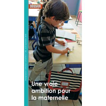 Une vraie ambition pour la maternelle