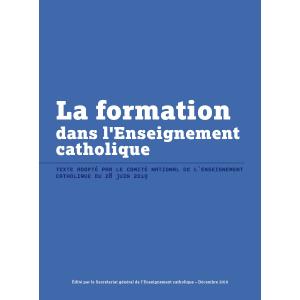 La formation dans l'Enseignement catholique