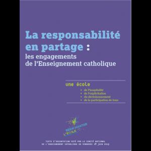 La responsabilité en partage : les engagements